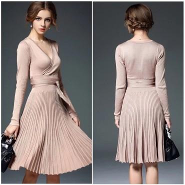 Плетена рокля солей