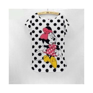 Блуза на точки Мини Маус